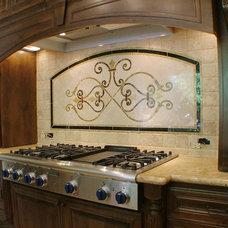 Mediterranean Kitchen by Bunker Hill Design