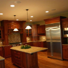 Traditional Kitchen by Stature Custom Homes
