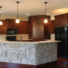 Traditional Kitchen by Custom Home Innovations