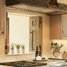 Mediterranean Kitchen by Allen Construction