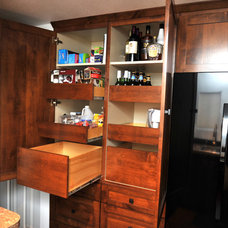 Craftsman Kitchen by Lift and Stor Beds