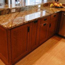 Craftsman Kitchen by Signature Kitchen & Bath Design