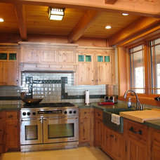 Traditional Kitchen by Vermont Custom Cabinetry
