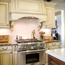 Mediterranean Kitchen by D Christjan Fine Cabinetry Design & Mfg.