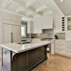 Traditional Kitchen by Stacy McLennan Interiors