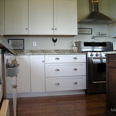 Farmhouse Kitchen by Jamie McConnell of Factory Builder Stores