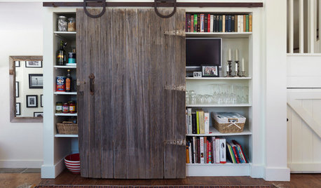 Let It Slide: 4 Beautiful Ways to Bring Barn Doors Inside