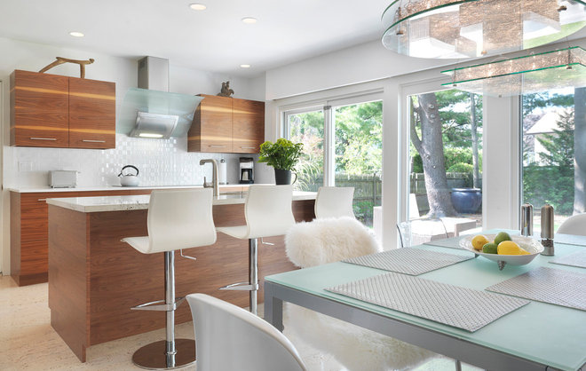 Contemporary Kitchen by Nat Rea Photography