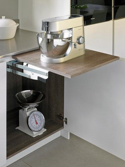 22 grandes astuces gain de place pour optimiser une petite - Electromenager pour petite cuisine ...