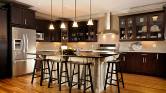 Mixing Cream & Dark Cabinets