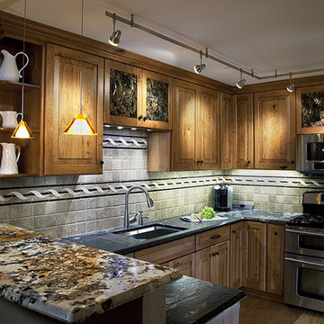 Mixing Granite Colors For Kitchen Counter Top