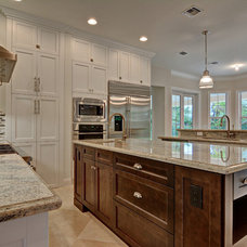 Traditional Kitchen by J.P. DiMisa & Associates Luxury Homes