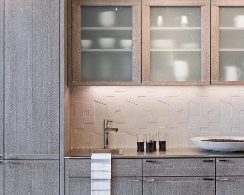 Backsplash Honey Oak Cabinets Ideas, Pictures, Remodel and Decor