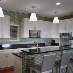 modern kitchen by MJ Lanphier