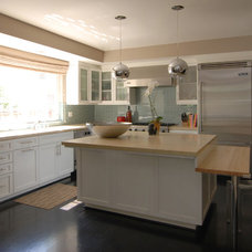 Contemporary Kitchen by MJ Lanphier