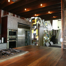 Eclectic Kitchen by Red Rock Pools and Spas and Red Rock Contractors