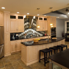 Contemporary Kitchen by Dilworth's Custom Design