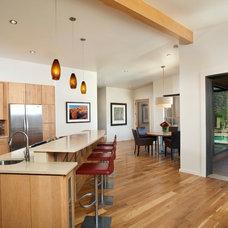 Contemporary Kitchen by Karen White Interior Design