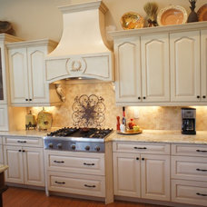 Traditional Kitchen by Christi's Cabinetry