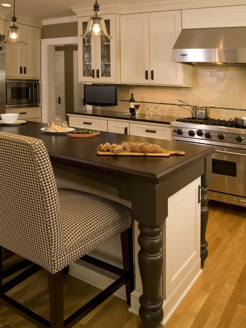 Tv in backsplash home design ideas pictures remodel and - Seattle kitchen appliances ...