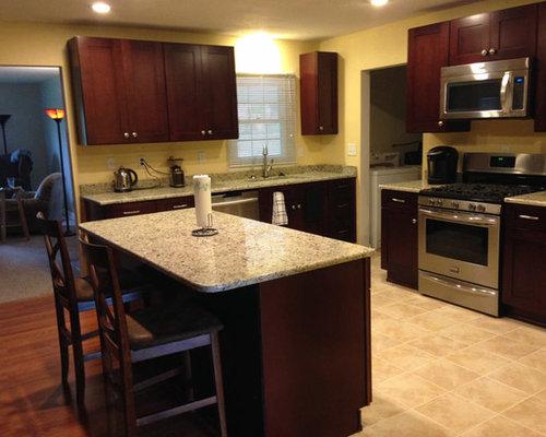 Mocha Shaker Kitchen Cabinets | Kitchen Cabinet Kings