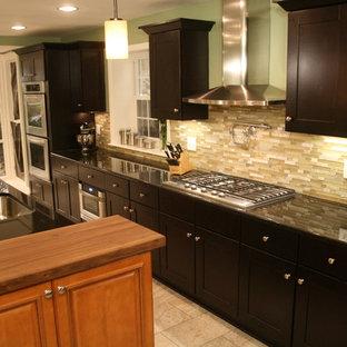 Mocha Kitchen Cabinets Houzz
