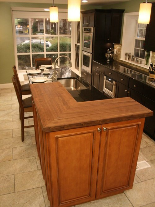 Mocha Kitchen Cabinets Home Design Ideas, Pictures ...