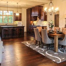 Transitional Kitchen by Matthew Keller Design