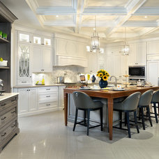 Traditional Kitchen by Arnal Photography