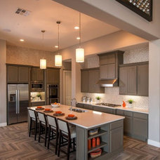 Transitional Kitchen by Monticello Homes