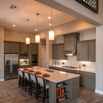 Model Home in the Reserve at the Heights at Stone Oak