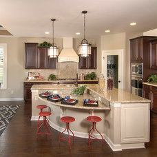Transitional Kitchen by Shea Homes Charlotte