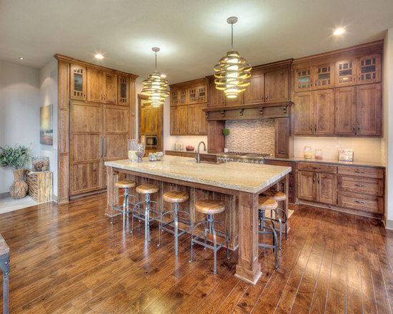 rustic cherry | houzz