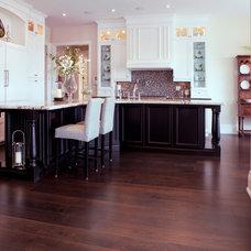 Traditional Kitchen by Milton Hardwood Floors