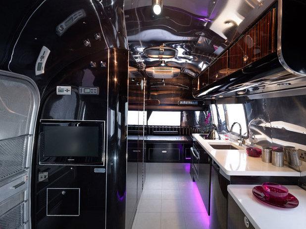 Modern Kitchen Modern Airstream restoration