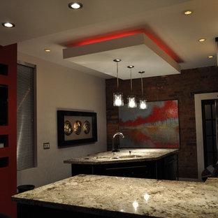Minimalist kitchen photo in Toronto