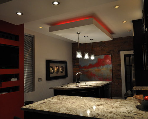 Floating Soffit Home Design Ideas, Pictures, Remodel and Decor