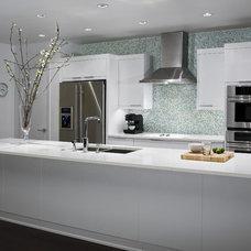Contemporary Kitchen by Robert Reid, RID  ASID  IDC  IDEC