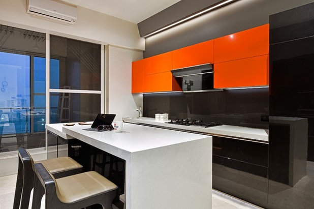 Moderne Cuisine by Milind Pai Architects & Interior Designers
