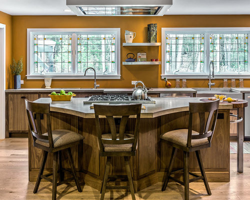 Craftsman portland maine kitchen design ideas remodel pictures houzz - Kitchen design portland maine ...