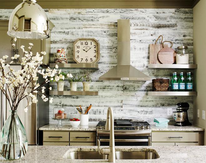 Farmhouse Kitchen by Kandrac & Kole Interior Designs, Inc.