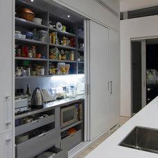 Contemporary Kitchen by Bespoke on Khyber