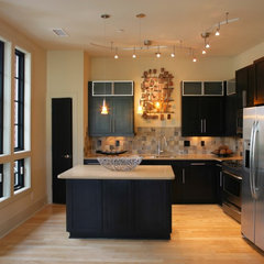 contemporary kitchen by plantation building corp