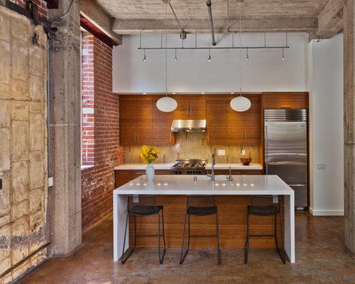 Best Caesarstone Organic White Design Ideas & Remodel Pictures | Houzz