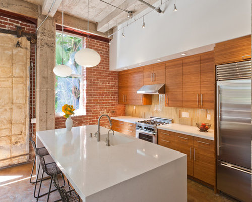 Best caesarstone organic white design ideas remodel pictures houzz - Caesarstone sink kitchen ...