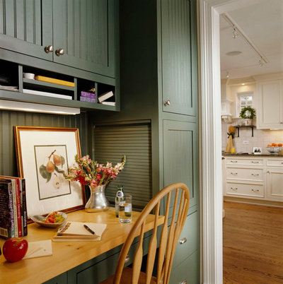 American Traditional Kitchen by bba ARCHITECTS