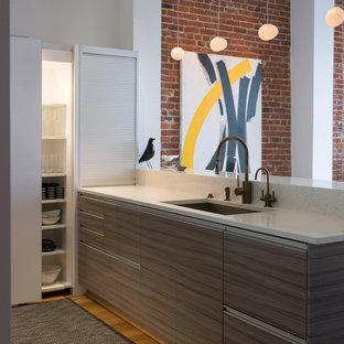 Modern City Loft Kitchen