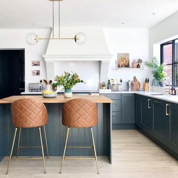 Modern-classic shaker style kitchen