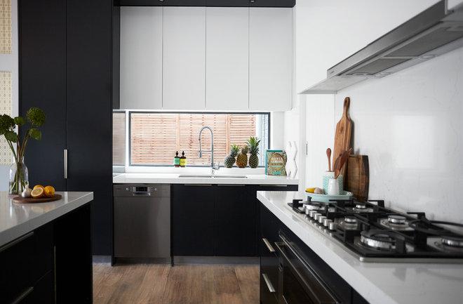 Contemporary Kitchen by Tennille Joy Interiors