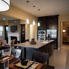 Contemporary Kitchen by Christine Ubbink Design